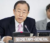 Secretary-General Ban Ki-moon address to the General Assembly
