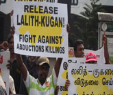 Sri Lanka rally to protest against disappearances