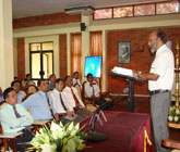 Keynote address by Prof. Raj Somadewa at The Annual Research Session 2013 of University of Sabaragamuwa, Sri Lanka