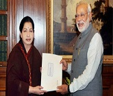 India should bring a UN resolution against Lanka on genocide: Jayalalithaa to PM