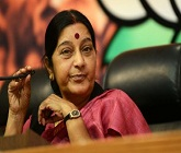TN delegation meets Sushma, presses for new Colombo doctrine