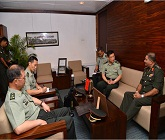 Vice Chancellor Academy of Military Sciences of the PLA calls on CDS